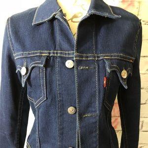 Levi's jean jacket - looks classic and vintage
